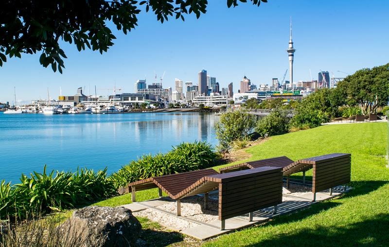 Auckland city scenery