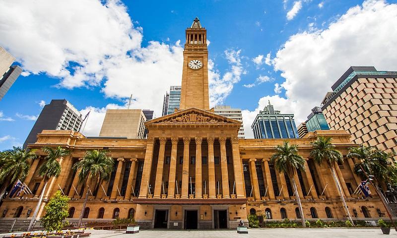 Brisbane Town Hall Building