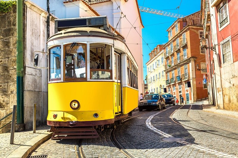 Lisbon's famous trams