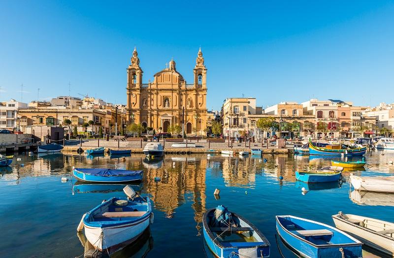 Malta waterfront scenery