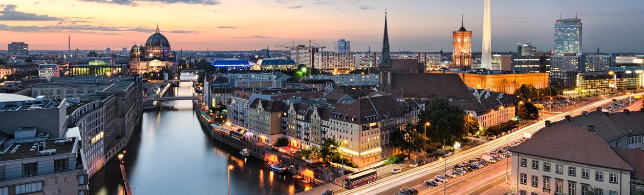 베를린 - 도시적인, 역사적인