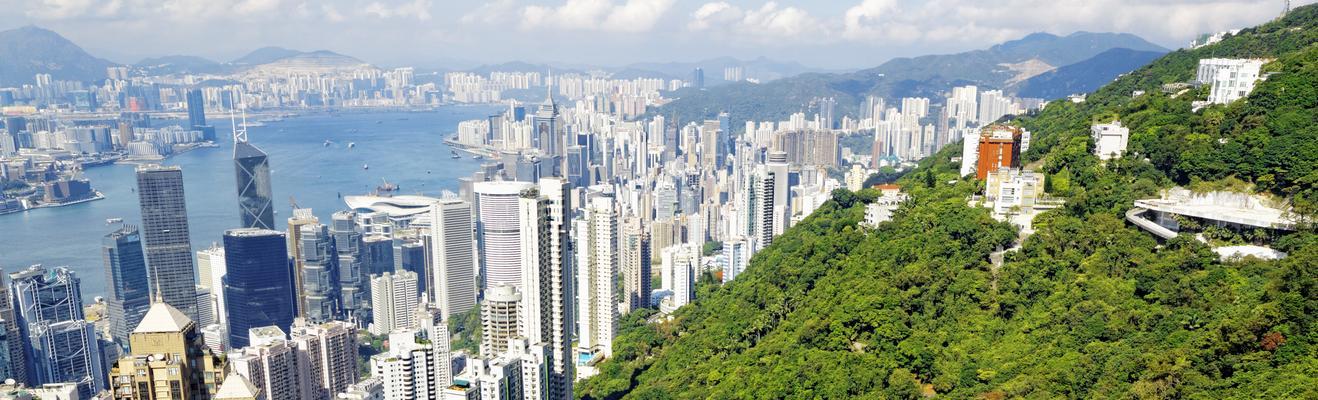 홍콩 - 도시적인, 역사적인