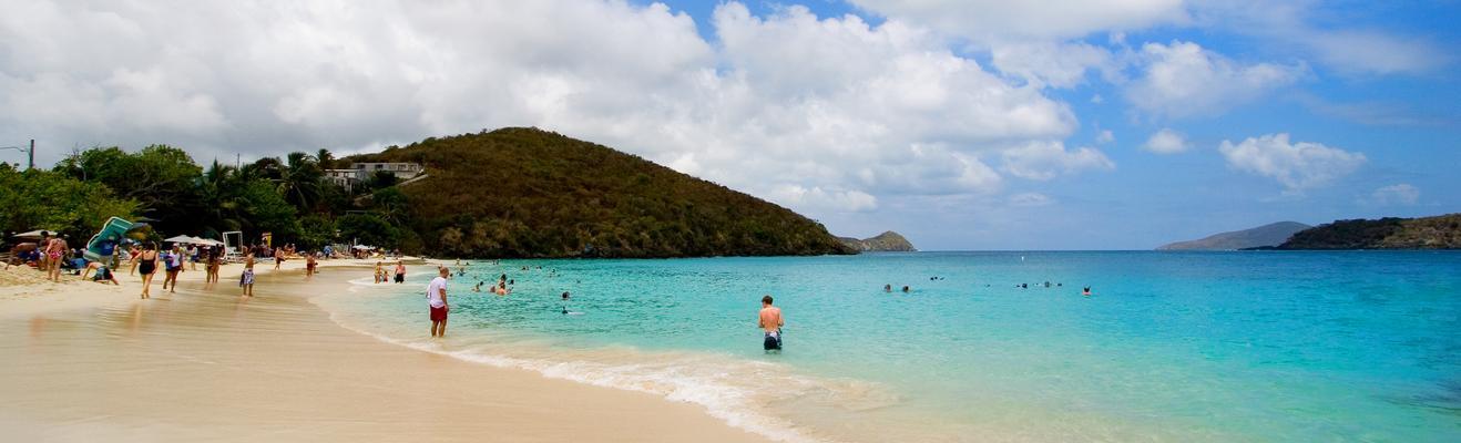 세인트토머스섬 - 해변