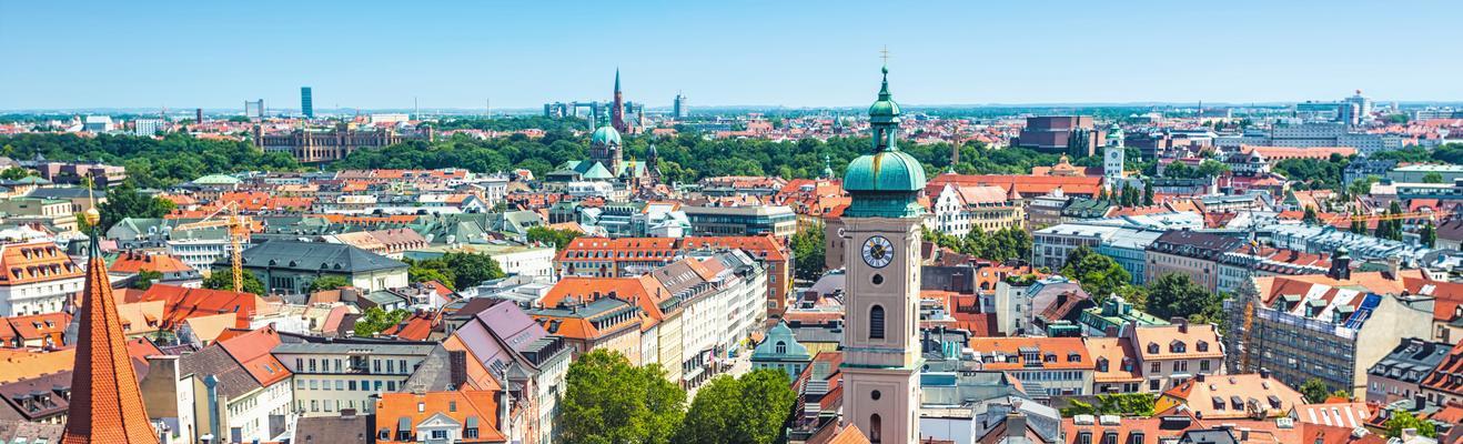 뮌헨 - 도시적인, 역사적인, 나이트라이프
