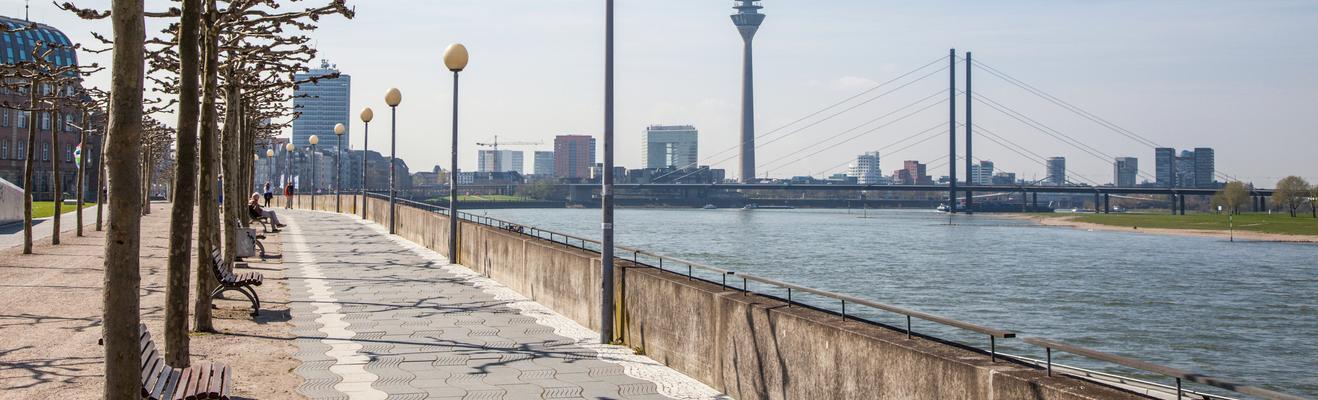 뒤셀도르프 - 도시적인, 역사적인