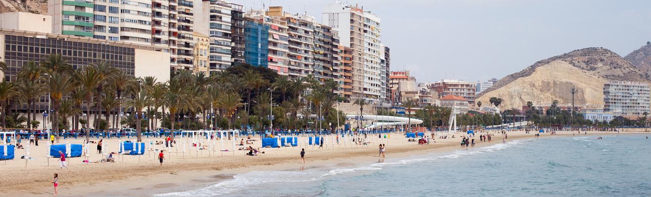 알리칸테 - 해변, 로맨틱한, 친환경, 역사적인