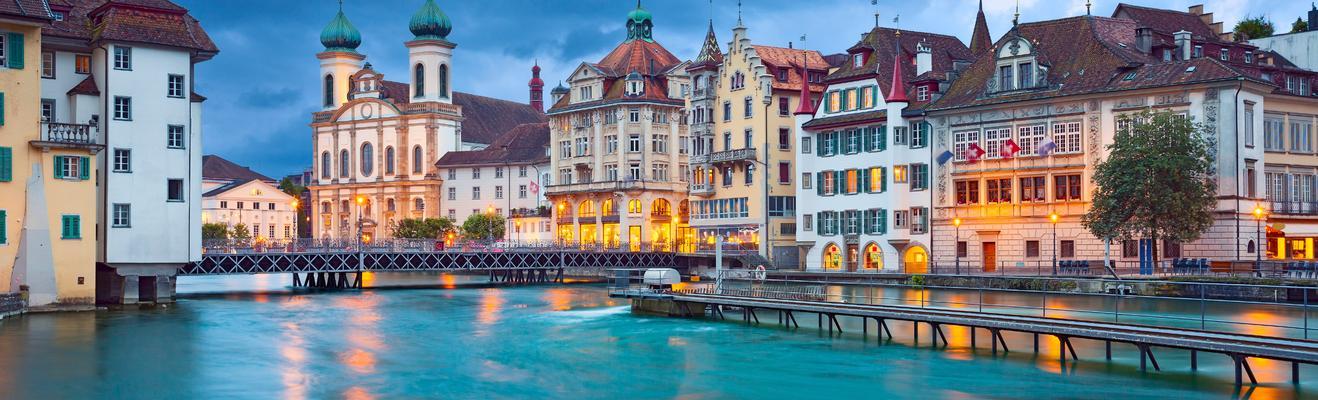 루체른 - 로맨틱한, 친환경, 도시적인, 역사적인