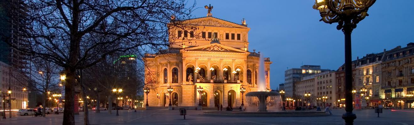 프랑크푸르트 - 도시적인, 역사적인