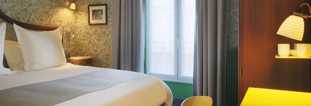 호텔 조세핀 - 파리 - 침실