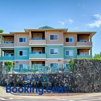 Beach Villas Kahaluu on Kona Coast Hotel Front
