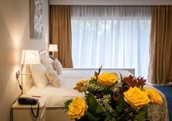 퍼스트 유로플랫 호텔 - 브뤼셀 - 침실
