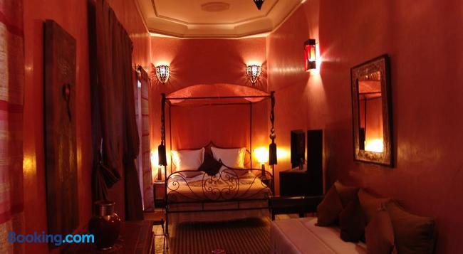 Riad Les Nuits de Marrakech - 마라케시 - 침실