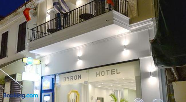 호텔 바이런 - 아테네 - 건물