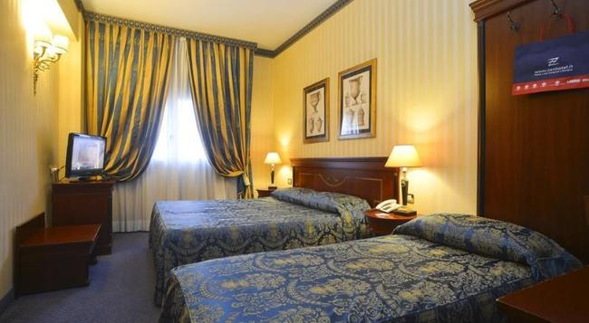 잔호텔 유로파 - 볼로냐 - 침실