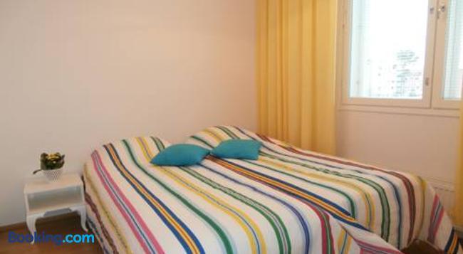 Huoneistohotelli Nallisuites - 오울루 - 침실