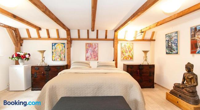 Bed & Breakfast of Art - 암스테르담 - 침실
