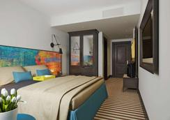 파노라마 르비브 호텔 - 리보프 - 침실