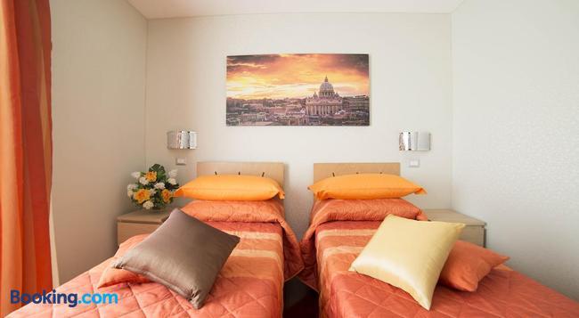 Di Fronte Alla Cupola - 로마 - 침실
