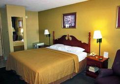 Motel 6 Memphis - Graceland - 멤피스 - 침실