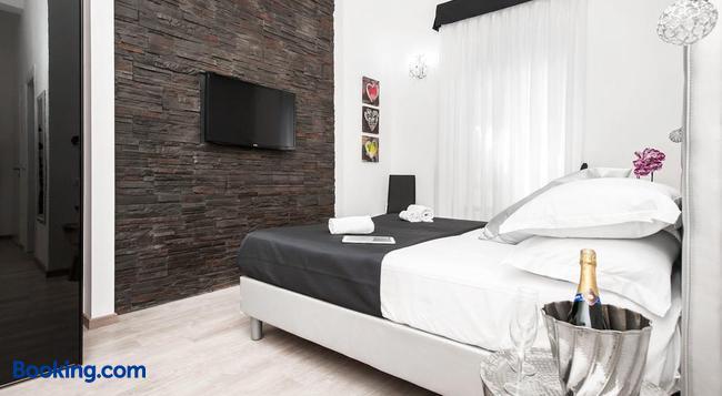블랙 룸 콜로세오 - 로마 - 침실