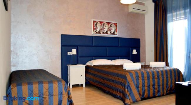 체크 인 룸 비비 - 로마 - 침실
