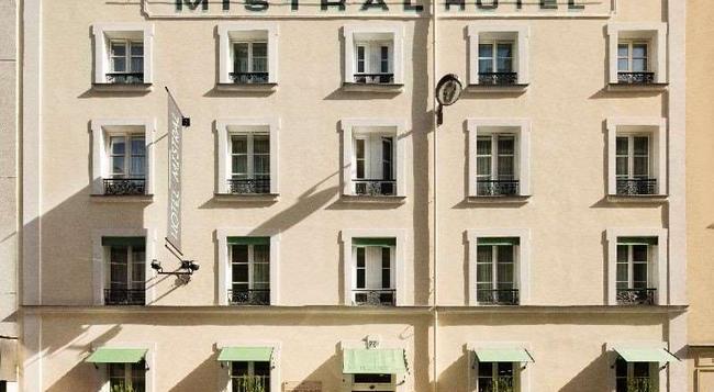 미스트랄 호텔 - 파리 - 건물