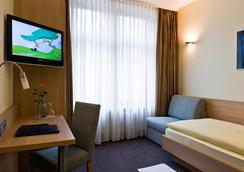 City Partner Hotel Berliner Hof - 카를스루에 - 침실