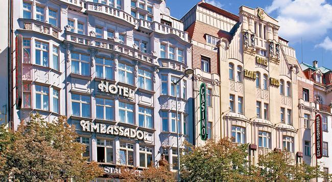 TOP 호텔 앰배서더 즐라타 후사 - 프라하 - 건물