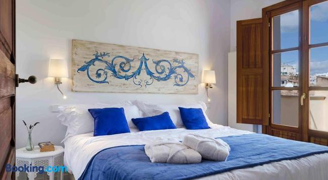 Staycatalina Boutique Hotel-Apartments - 팔마데마요르카 - 침실
