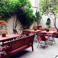 로얄 파크 호텔 Terrace/Patio
