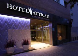 아티카 21 바르셀로나 마르 호텔