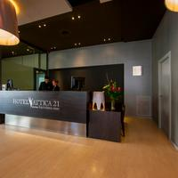 아티카 21 바르셀로나 마르 호텔 Reception