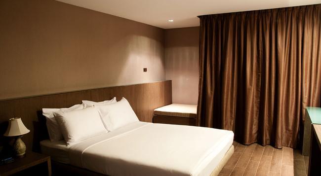 방콕 시티 호텔 - 방콕 - 침실