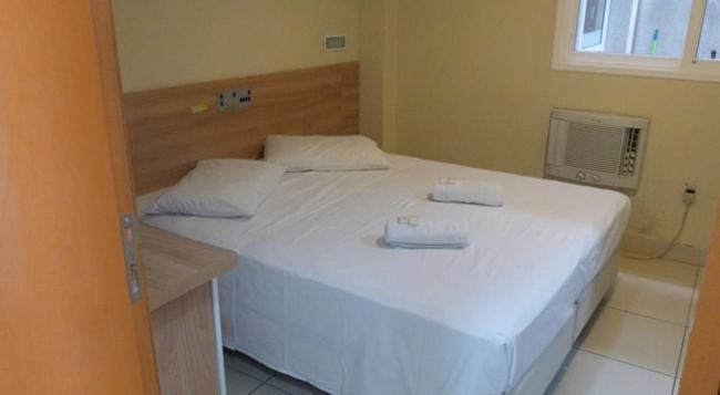 Hotel Minuano Home - 포르투알레그레 - 침실