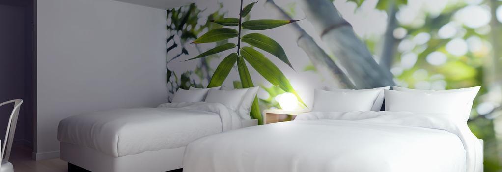 Greenpoint Hotel Kissimmee - 키시미 - 침실
