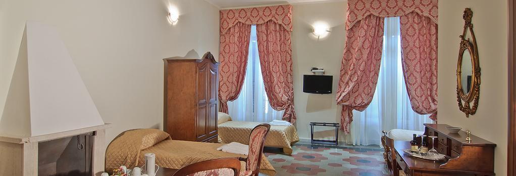 호텔 르 클라리세 알 펜테온 - 로마 - 침실