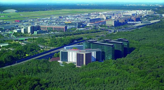 슈타이겐베르거 공항 - 프랑크푸르트 - 건물