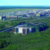 슈타이겐베르거 공항 Steigenberger Airport Hotel, Frankfurt, Germany - Aerial view