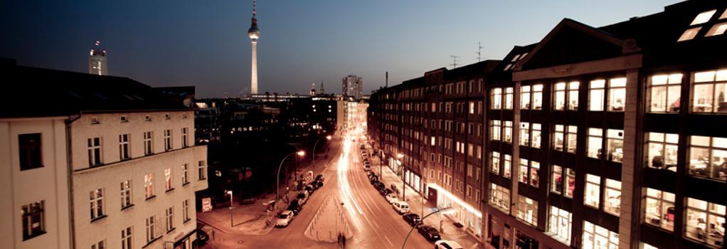 호텔 아마노 - 베를린 - 건물