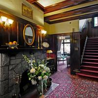 Dashwood Manor Seaside Bed & Breakfast Grand entrance foyer denotes the heritage atmosphere.