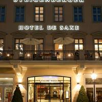 슈타이겐베르그 호텔 드 작세 Hoteleingang bei Nacht