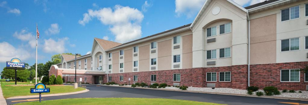 Days Inn and Suites Green Bay WI. - 그린베이 - 건물