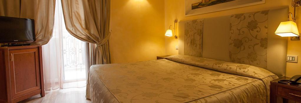 카멜리아 호텔 - 로마 - 침실