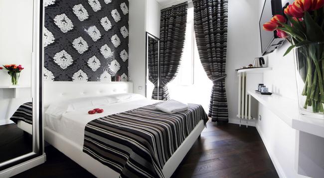 더 원 바티카노 룸 게스트하우스 - 로마 - 침실