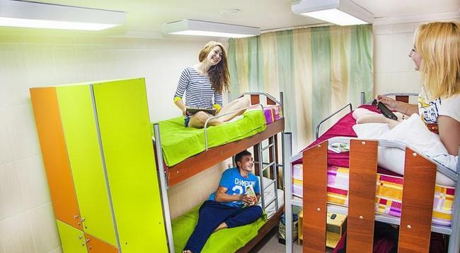 Millenium Hostel - Omsk - 침실