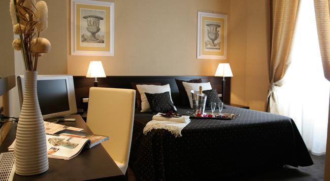호텔 라티눔 - 로마 - 침실