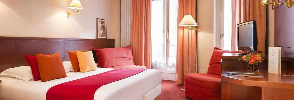 호텔 롱드르 생토노레 - 파리 - 침실