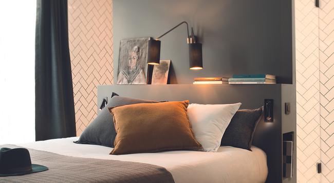 COQ 호텔 파리 - 파리 - 침실