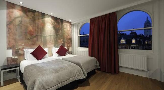 더 퀸'스 게이트 호텔 - 런던 - 침실