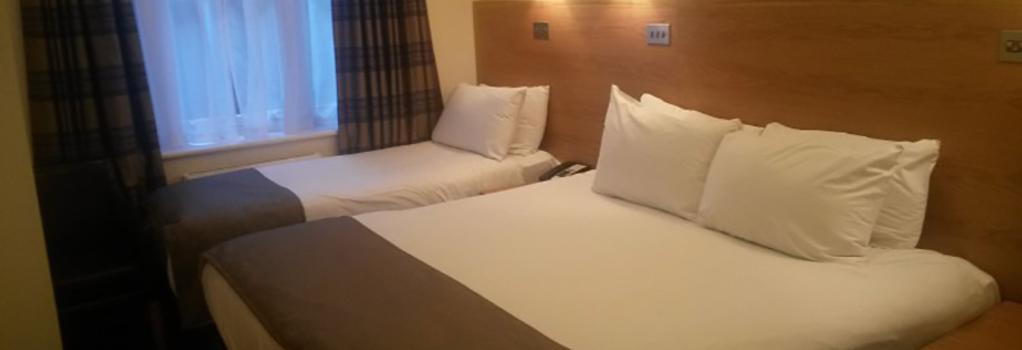 리젠시 호텔 파크사이드 - 런던 - 침실